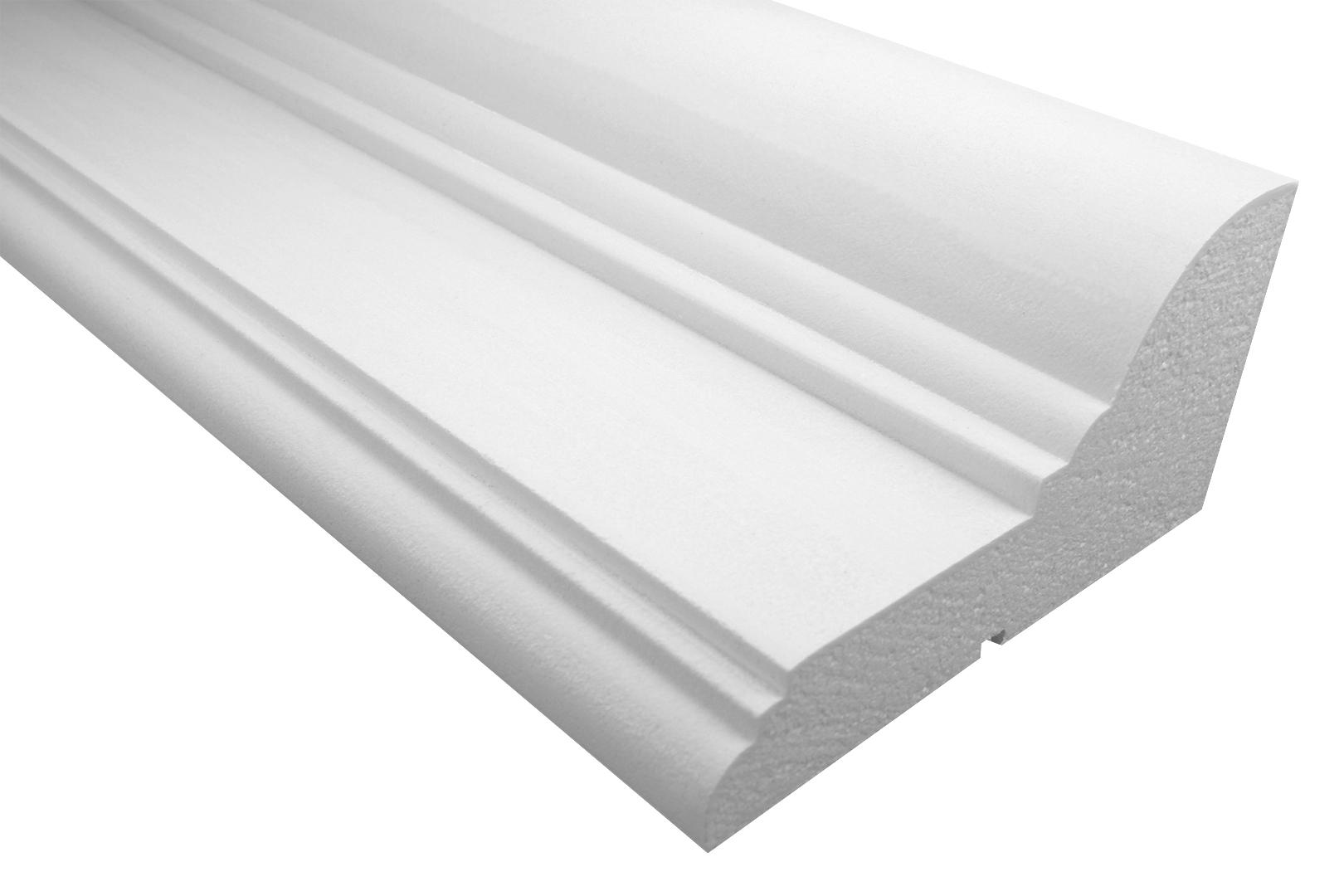 Fassade   Gesims   EPS   PU  stoßfest  135x260mm   KC131