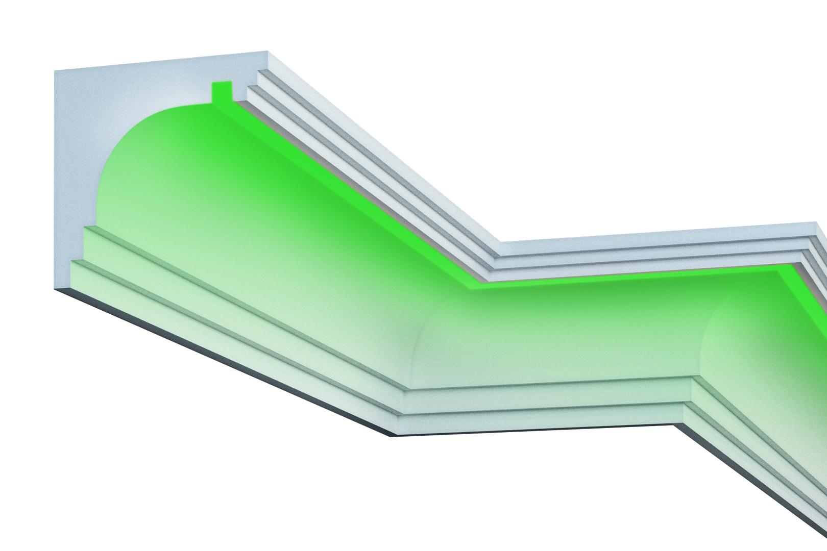 Fassade   LED Stuck   EPS   PU   wetterfest   220x210mm   KC302
