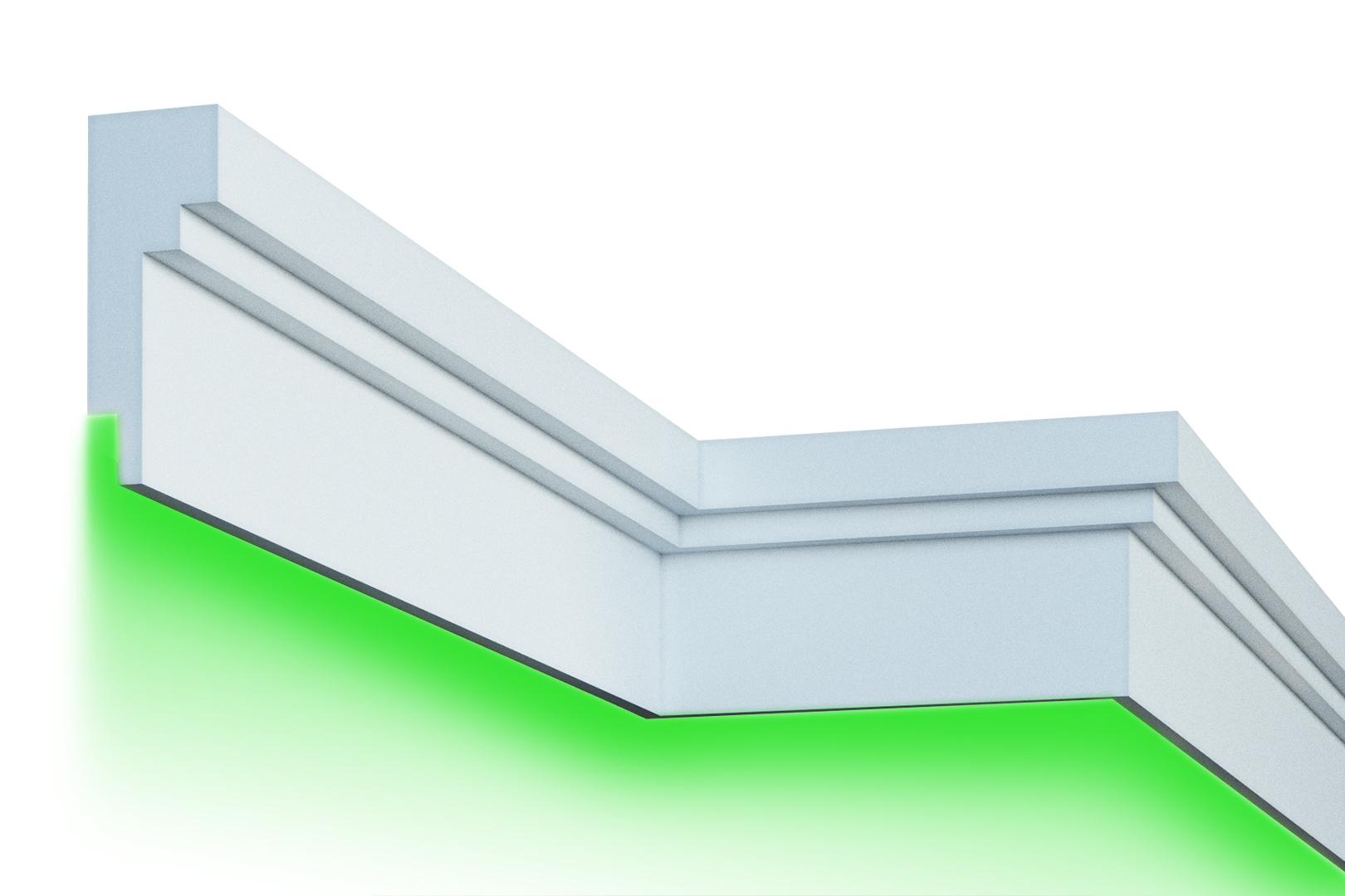 Fassade | LED Stuck | EPS | PU | wetterfest | 80x210mm | KC303