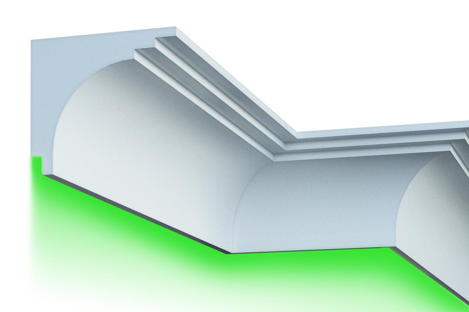 Fassade   LED Stuck   EPS   PU   wetterfest   250x220mm   KC305