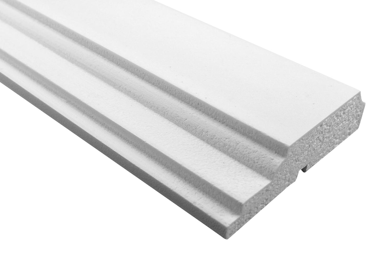 Fassade | Profile mit Ausprägung | EPS | PU |stoßfest |45x170mm | MC167