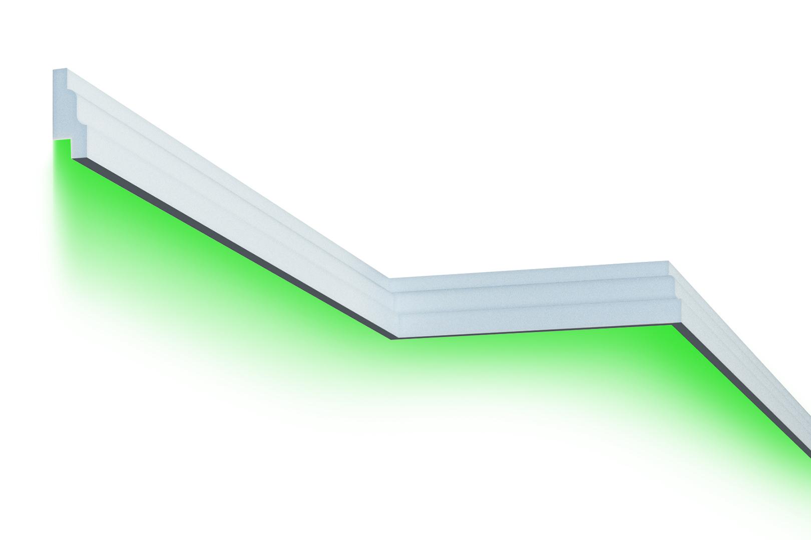 Fassade | LED Stuck | EPS | PU | wetterfest | 35x85mm | MC302