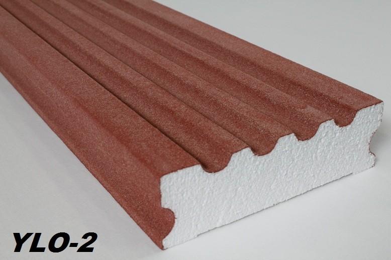 Fassadendekore / Konsolen Restposten - EPS Styropor mit Quarzsand Beschichtung