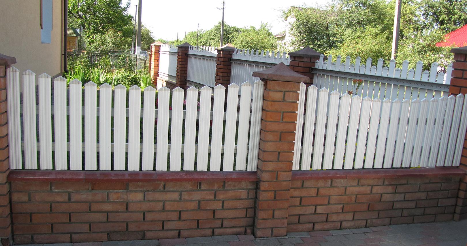 pflegeleicht widerstandsf/ähiges Hart-PVC Kunststoffzaun 80 x 16 mm Balkonbretter wei/ß modern Zaunlatten Sparpaket PZL-01 Hexim 30 Meter