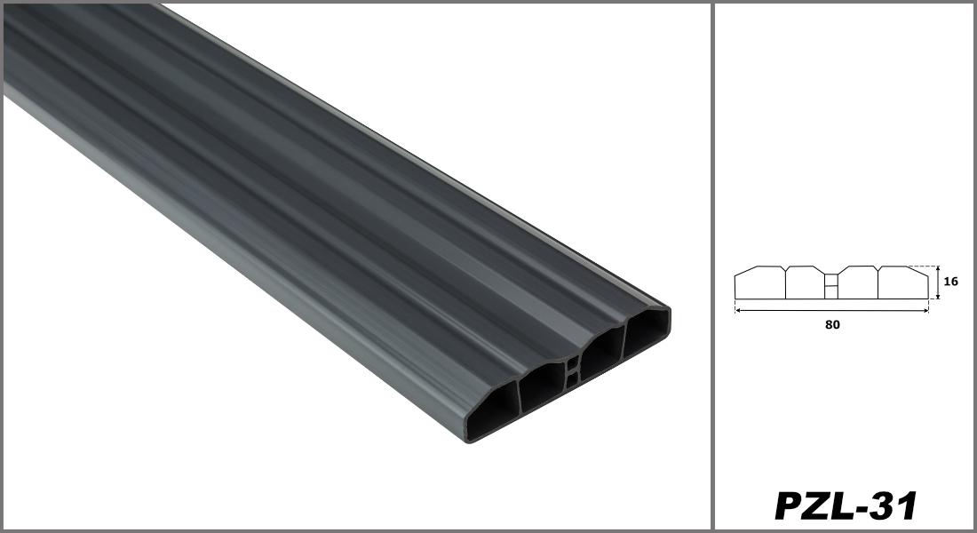 Zaunlatten & Zubehör aus PVC Kunststoff, Sichtschutz für Garten & Terrasse, Zaunelemente in 3 Farben