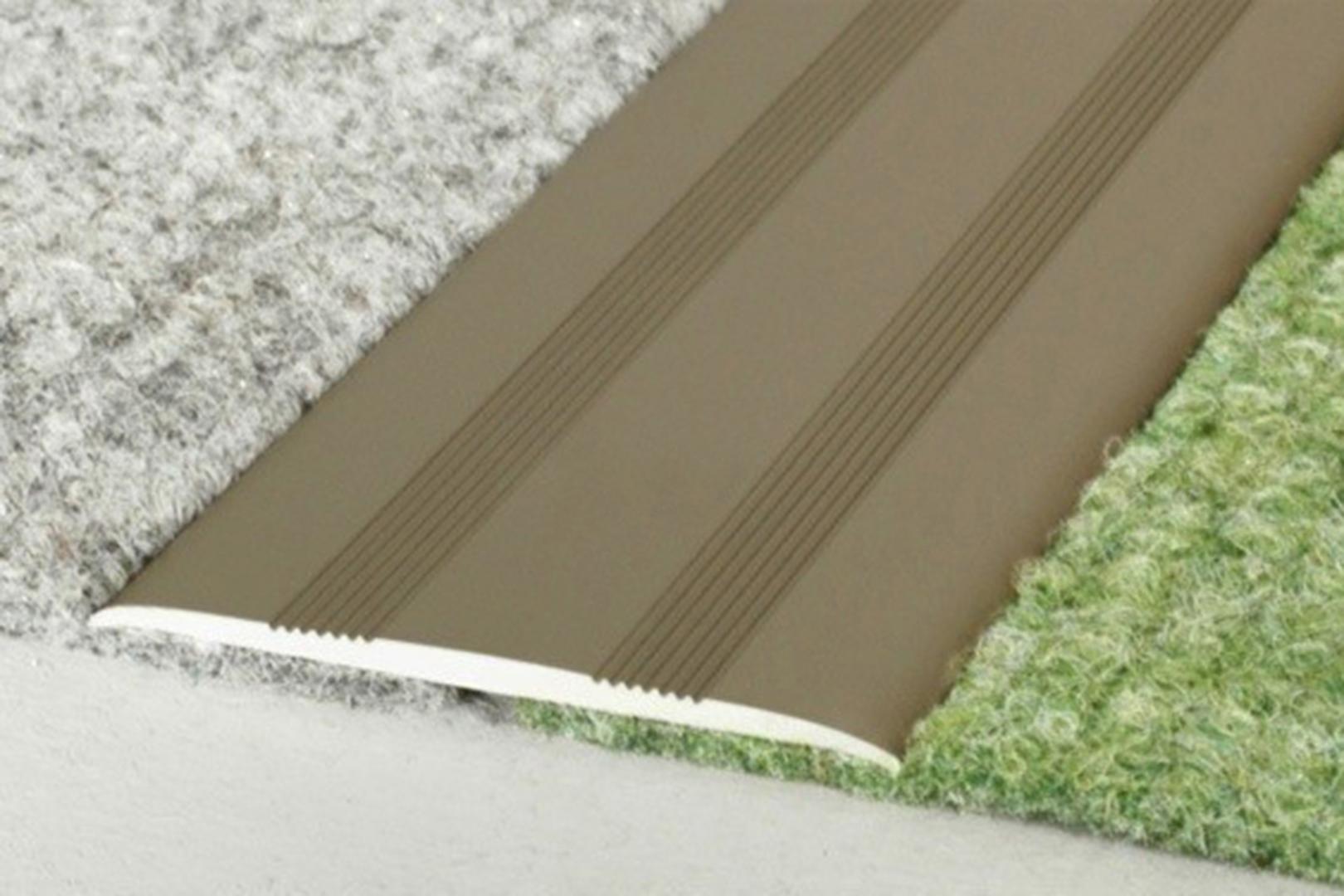 1,8 Meter | Übergangsprofile | Alu | eloxiert | Effector | 35x2mm | A08SK