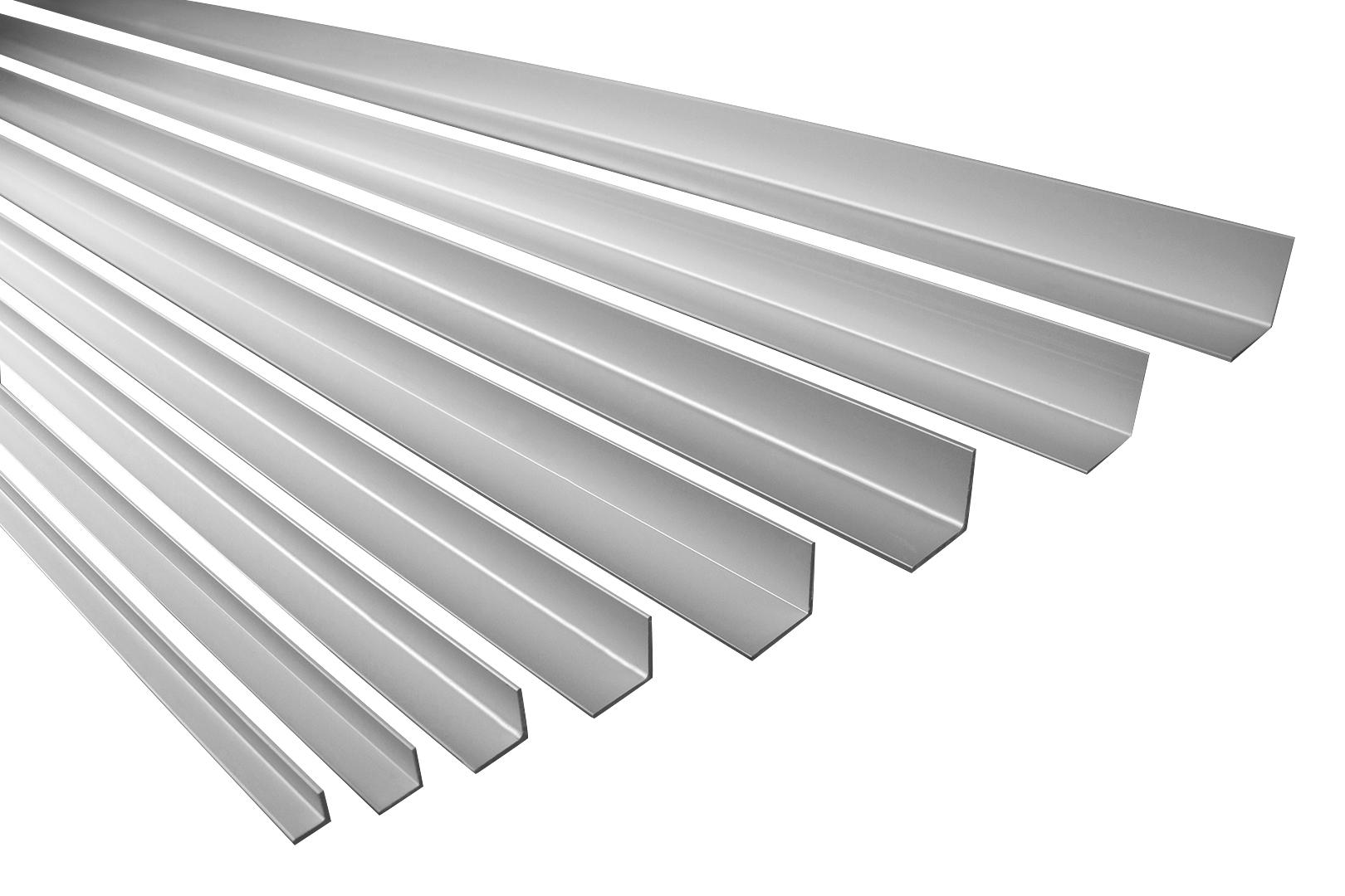 2 Meter | Winkelprofil | Alu | eloxiert | Effector | Ecke | Effector | B10-B17