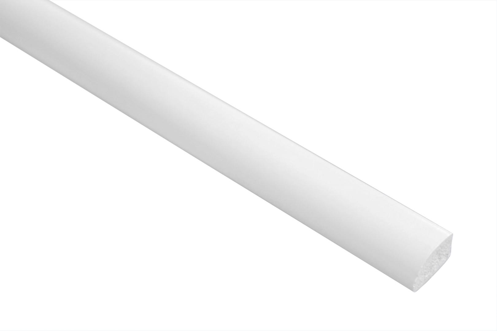 2 Meter | Flachleiste | PVC | stoßfest| Effector | 8x13mm | F07
