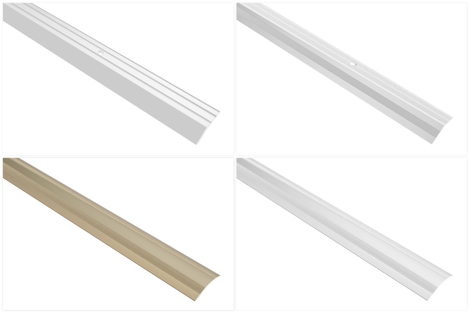 Abschlussprofile aus Aluminium, langlebig & rostfrei für den perfekten Abschluss jedes Bodenbelages