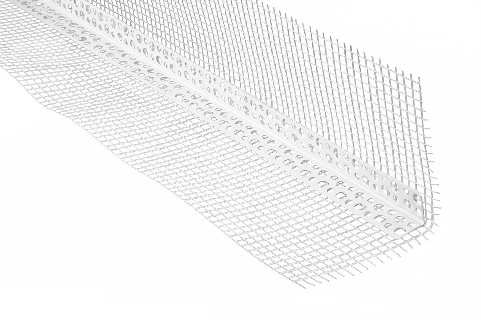 Winkelprofil | Kantenschutz | Gewebe | Armierung | PVC | 10x10cm | Lemal | PT10
