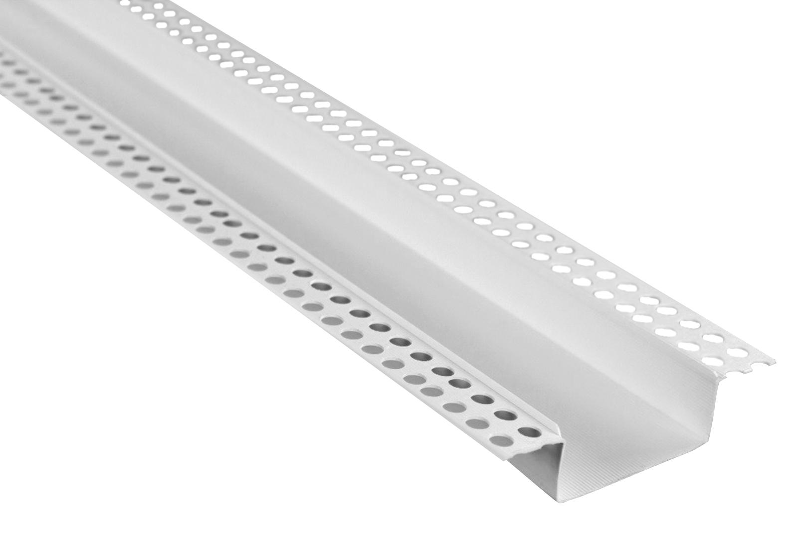 2 Meter | Trennprofil | Bossenwerk | Fassade | PVC | versch. Größen | Lemal | PT11