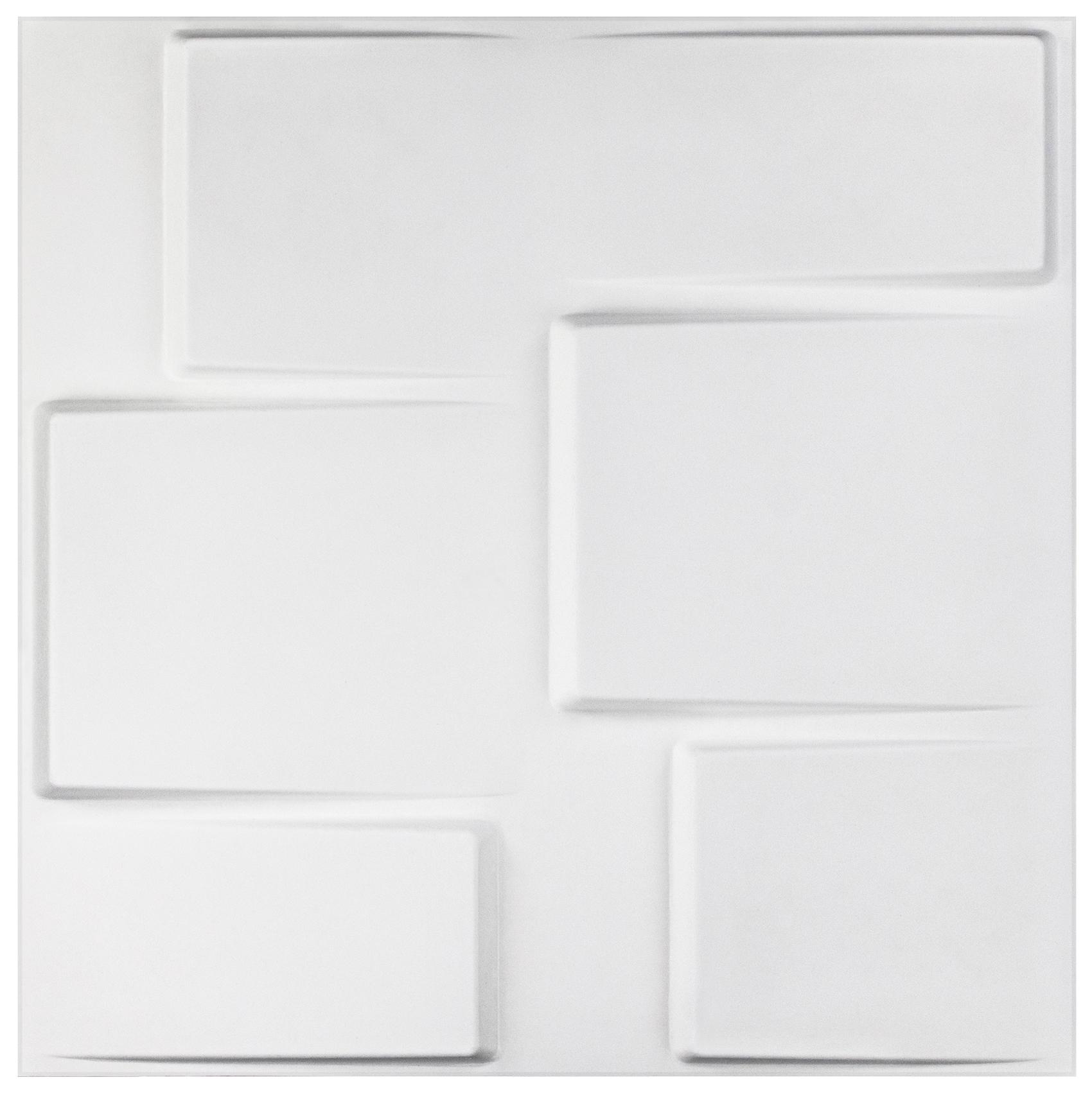 15 qm Paneele 3D Platten Wandpaneele 3D Wandplatten Wand Decke 50x50cm Carlos