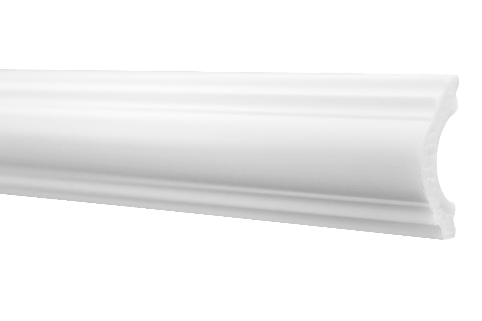 Flachleiste | Stuck | Wand | Profil | stoßfest | 20x40mm | HW-2