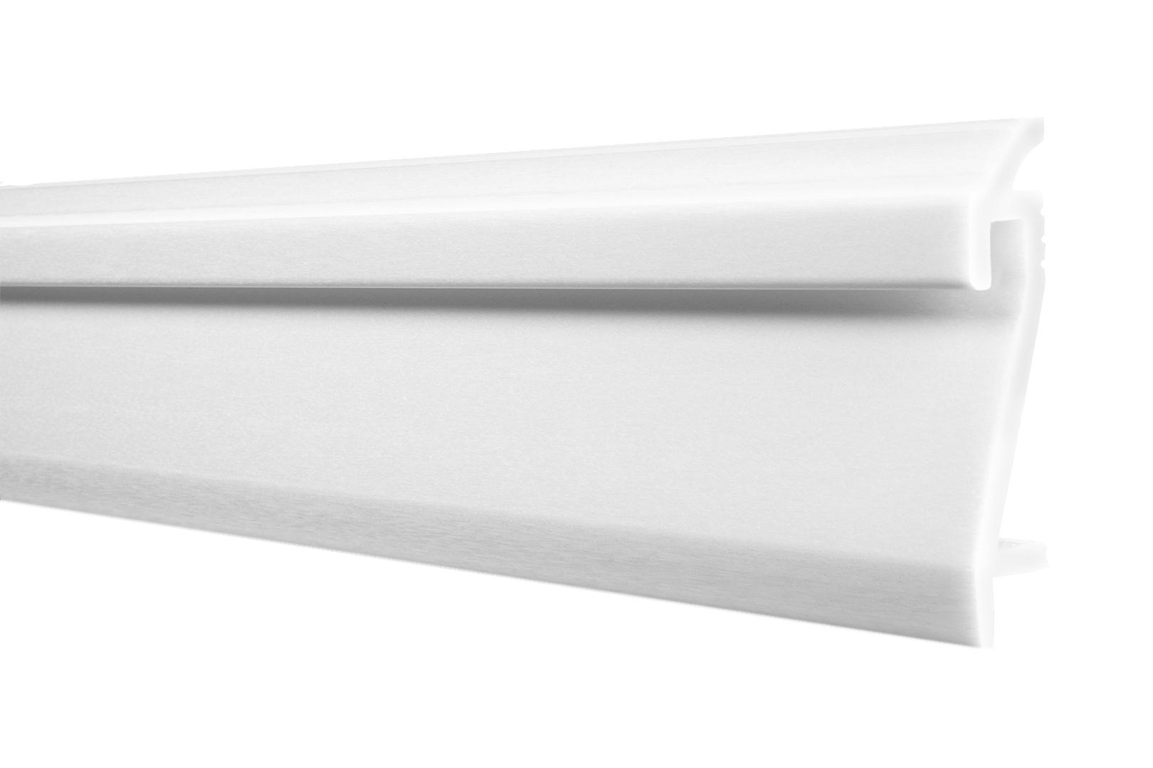 LED Sockelleisten | Stuck | Fußleiste | Berliner | stoßfest | 109x22mm | HF-3