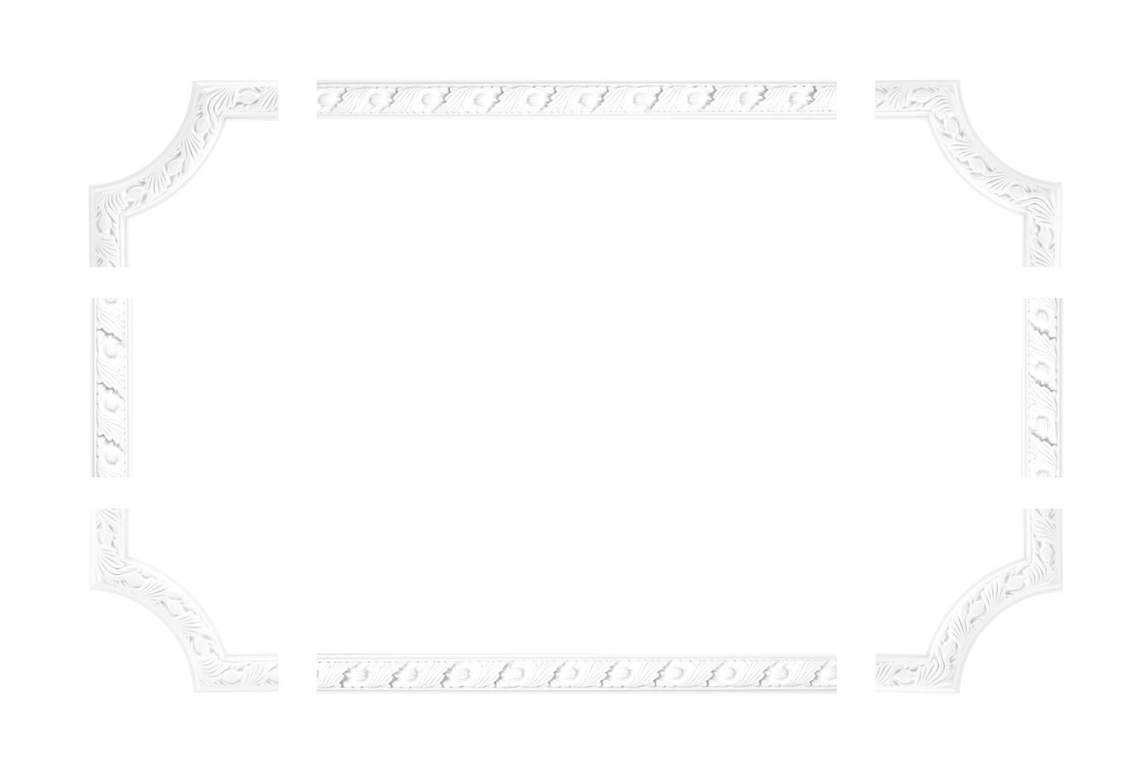 Wand- und Deckenumrandung | Fries | Stuck | PU | stoßfest | CR720/A