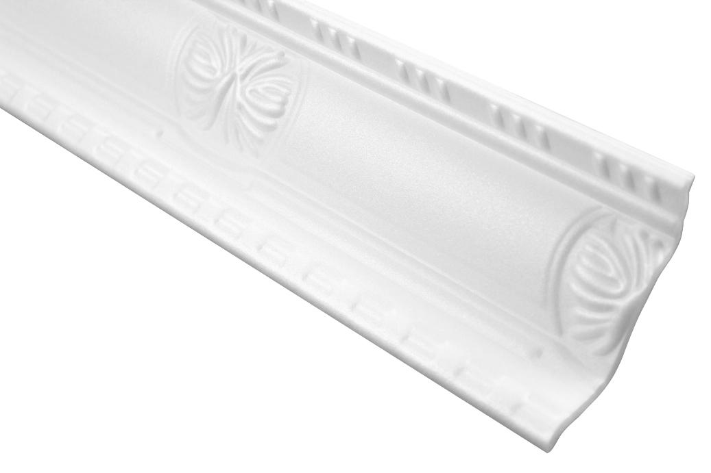 Zierprofil Polystyrolleiste Eckleiste Dekor Stuck | Hexim | 93x45mm | M-20
