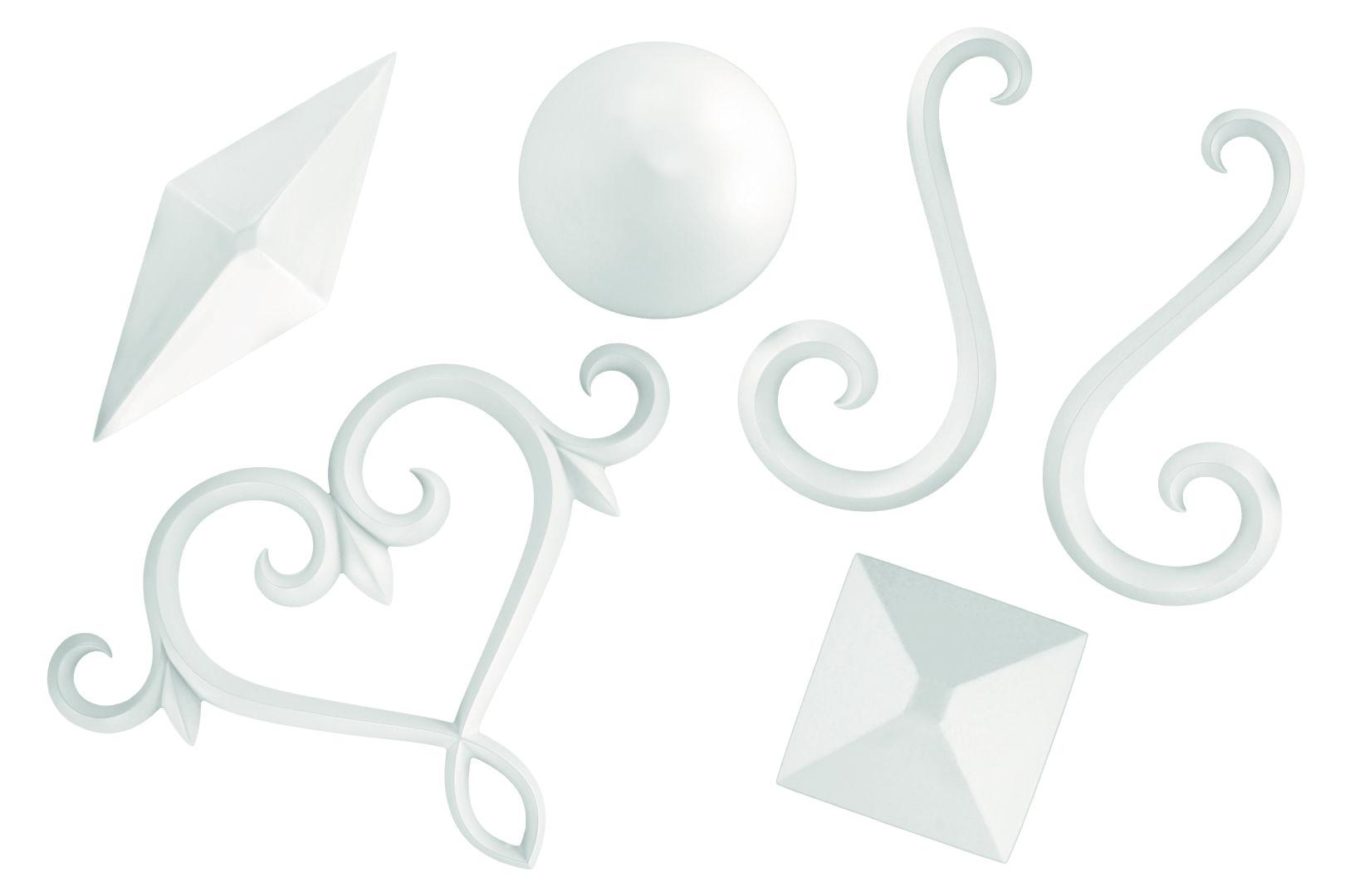 Segmente | Stuckdekor |Auswahl |PU | stoßfest |Grand Decor