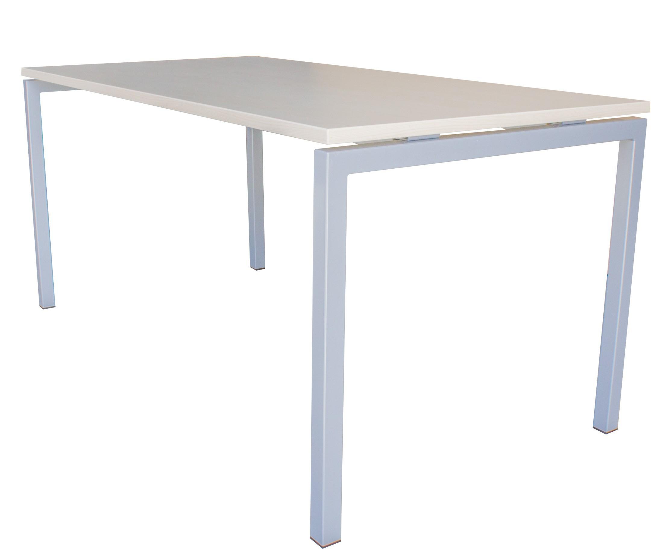Komplettbüro NOVA Landshut Ahorn/Weiß Büromöbel-Set Einzelarbeitsplätze