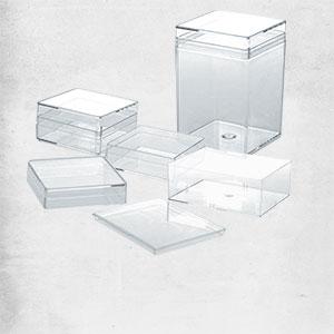 VarioColors Klarsichtdosen Aufbewahrungsboxen