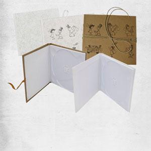 Geschenkverpackungen für CD + DVD