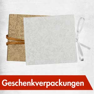 Exklusive Geschenk-Verpackungen