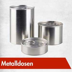 Metalldosen Kinodosen