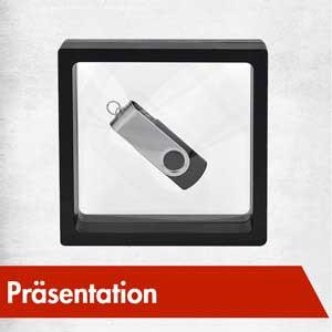 Schmuck Präsentation Schweberahmen