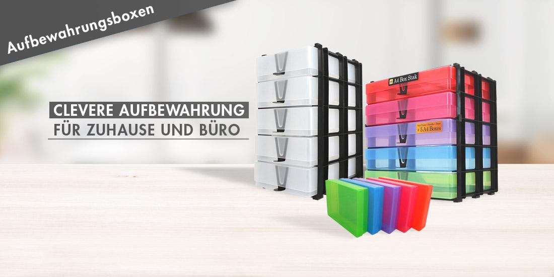 Weston Boxes Aufbewahrungsboxen aus Kunststoff