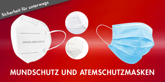 Atemschutz Masken Mundschutz N95 Masken