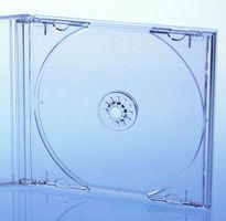 Kronenberg24 CD Vario PRO Tray transparent OHNE Box (für Vario und Multi PRO CD Jewelbox)
