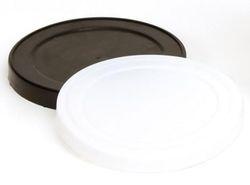 Schwarzer Kunststoffdeckel für Pressitin Dose (nur Deckel ohne Dose)