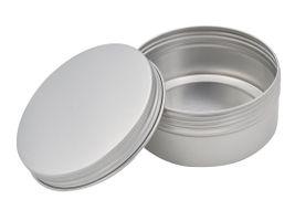 Kronenberg24 runde Aluminiumdose mit Schraubverschluss 150ml 81x37mm