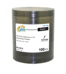 FTI Falcon Media Professional CD-R 700MB/80Min. 52x INKJET weiss diamond