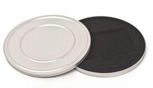 Runde Gutscheindose Karten Metalldose mit Filmdosen Prägung 123x10 mm