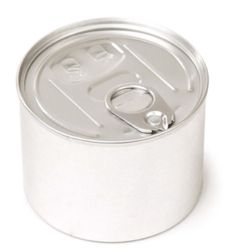 Innovative PressItin Metalldose 200ml 73x55mm für Kleinteile, Lebensmittel und Geschenke