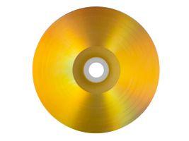 Vinyl Collection 12cm CD-R im Schallplattendesign gold/silber