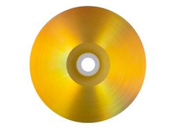 Vinyl Collection 12cm CD-R im Schallplattendesign gold/silber