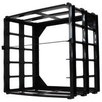 Variocolors A4 Aufbewahrungsmodul schwarz 345x325x235mm ohne Boxen