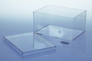 Variocolors Klarsichtdosen transparent 130x96x67mm mit Deckel