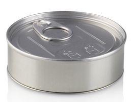 Innovative PressItin Metalldose 100ml 73x25mm für USB-Sticks, Lebensmittel und Geschenke