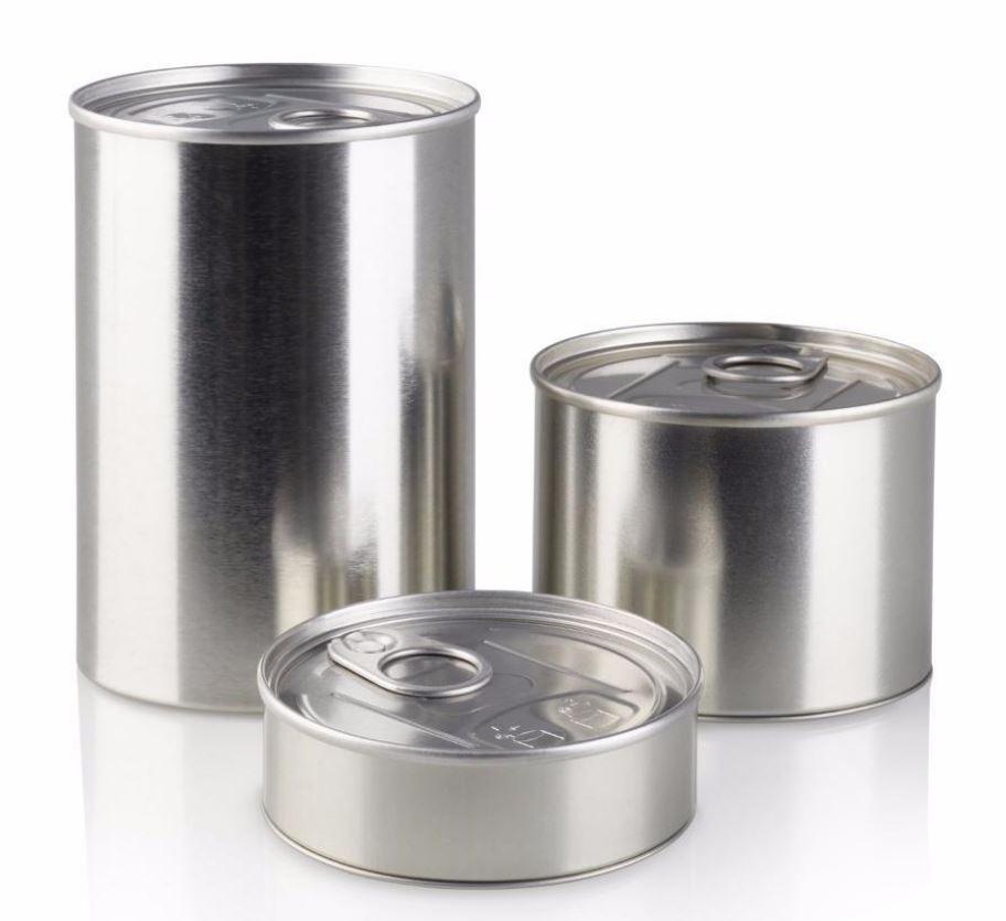 Innovative PressItin Metalldose 9ml 9x9mm für Lebensmittel und  Geschenke
