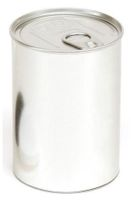 Innovative PressItin Metalldose 400ml 73x105mm für Lebensmittel und Geschenke