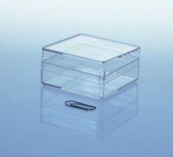 Variocolors Klarsichtdosen transparent 59x59x30mm mit Deckel