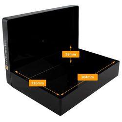 Variocolors A4 Aufbewahrungsbox Black Edition Lichtschutz 312x225x57mm