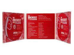 Kronenberg24 DigiPak CD- und  DVD Verpackung 6-seitig  mit 2 Trays ohne Bookletschlitz