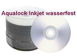 Aqualock PRO SuperGlossy CD-R Kronenberg24 wasserabweisend PERLMUTT, 700MB/80Min./52x