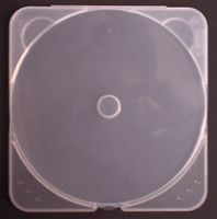 CD Box transparent frosted Slim