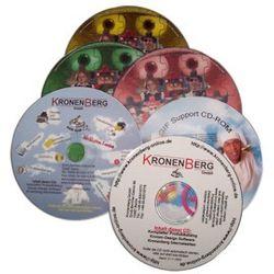 Bedruckgebühr CD/DVD-R + Schutzlack (vorbehaltlich Vorlagen-Akzept) OHNE Rohling