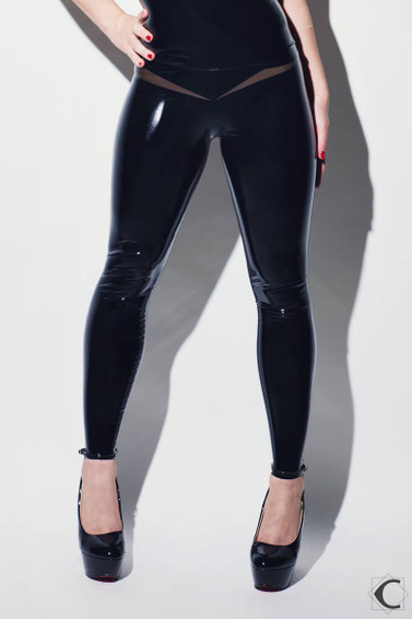 Zippered Path Leggings