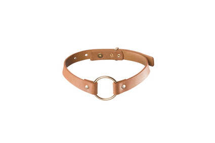 MAZE - Single Choker - Brown